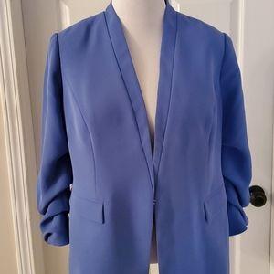 Cornish blue Chico's jacket